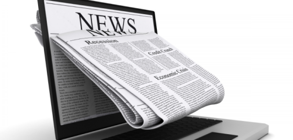 Online newspaper advertising