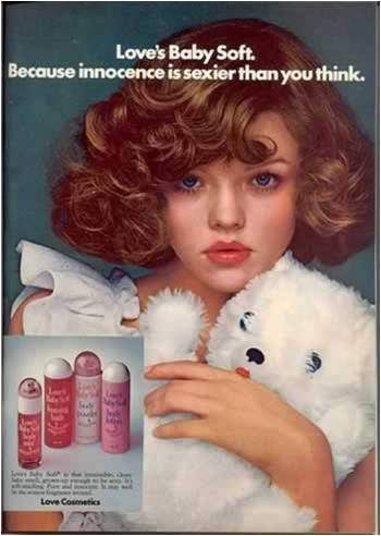 Just Perfect advertising children beautyproducts