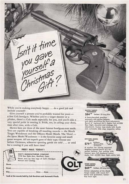 Just Perfect advertising guns