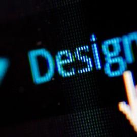 A screen shot indicating design
